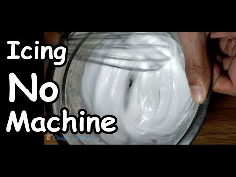 How to Make Icing w/out Electric Mixer | Chef n Meals