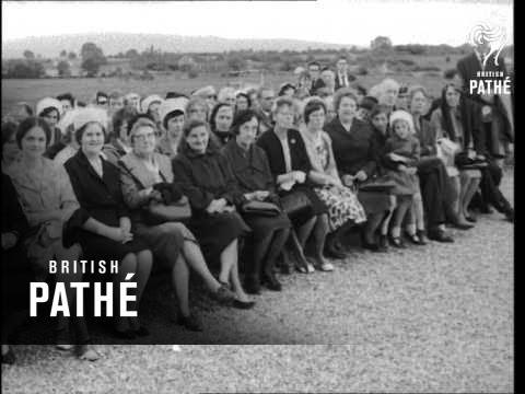 De Valera At Ballintubber Abbey Anniversary (1966)
