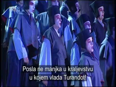Puccini - Turandot - Split 2016