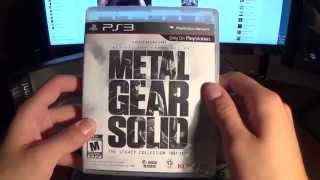 Metal Gear Solid Legacy Collection 1987-2012 Unboxing