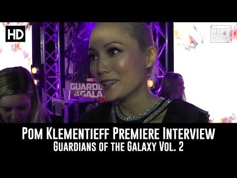 Pom Klementieff Premiere Interview - Guardians of the Galaxy Vol. 2
