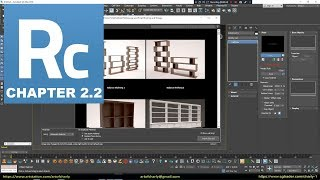 Railclone tutorial in 3ds max. Style and Display tabs.