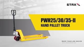 [ STAXX ] PWH-II Premium Quality Hand Pallet Truck