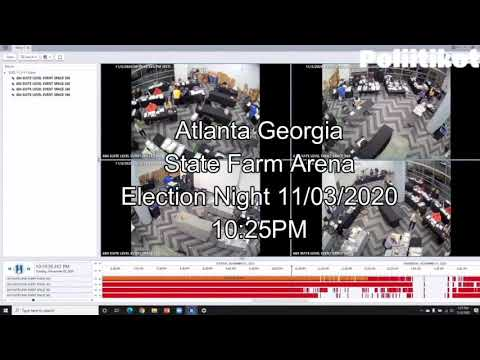 Composite Video of the Many Criminal Acts that Took Place In the Atlanta Arena on Election Night