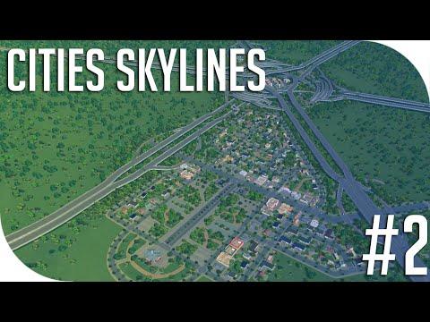 ''Park, Neighbourhood, Intersections'' - Cities: Skylines - Part 2