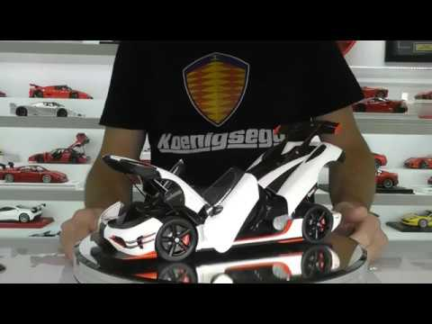 KOENIGSEGG ONE:1 by AUTOart Models - Full detailed review
