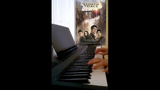 The Scorch Trials Trailer Music on Piano