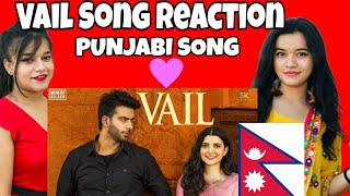 Gambar cover VAIL (OFFICIAL VIDEO) Mankirt Aulakh Ft. Nimrat Khaira   Avvy Sra   Shree Brar   Song reaction
