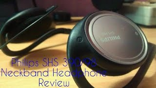 Philips SHS390/98 Neckband Headphone Review!