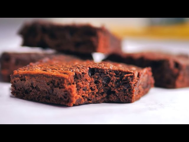 Only 3 Ingredient Fudgy Nutella Brownies