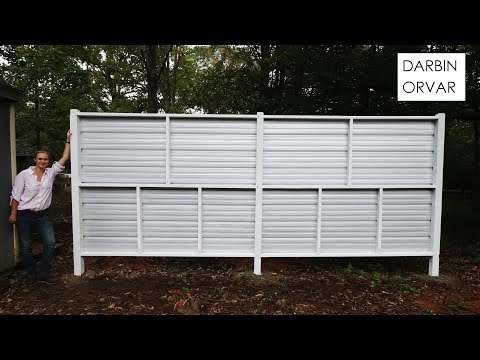 Building a Modern Privacy Screen
