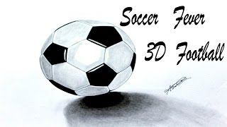 How to draw a soccer ball : Football