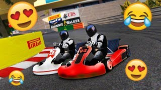 DRIVING A GO-KART AT THE MONACO GP CIRCUIT! (Karting Race At Monaco!)