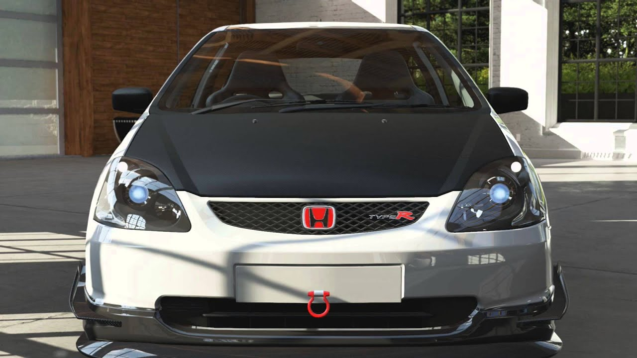 forza 5 introduction for honda civic type r short. Black Bedroom Furniture Sets. Home Design Ideas