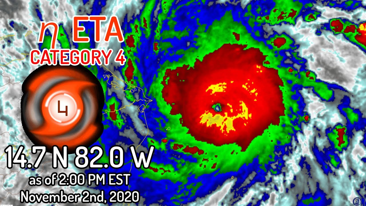 Eta still strengthening; now expected to become a Category 5 ...