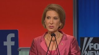 Did Carly Fiorina Beat the Boys in the Undercard Debate?