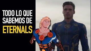 Todo lo que sabemos sobre los Eternals I Análisis teaser trailer