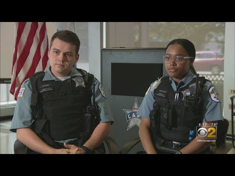 Two New Chicago Police Officers Save Little Boy's Life