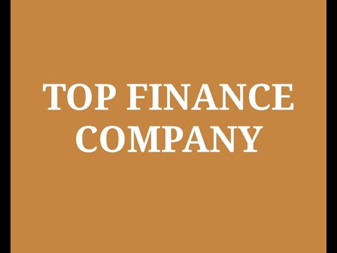 Top NBFC Finance Companies in India 2020 | List of Non Banking Financial Company