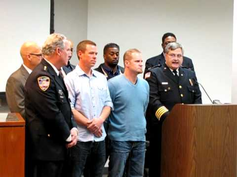at&t-workers-who-rescued-woman-in-home-explosion-honored-in-park-forest