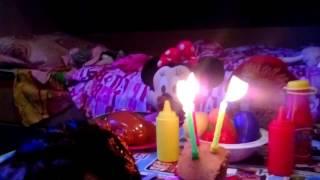 Видео.3. День рождения Кати !!!!