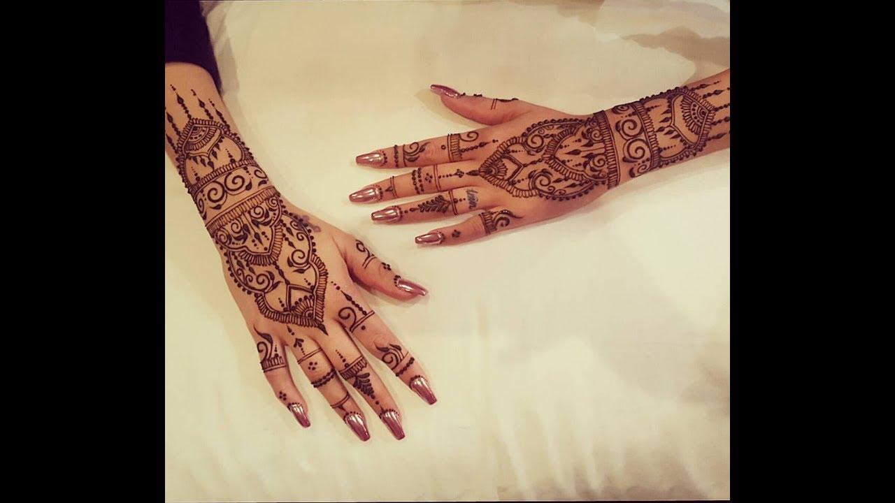 Modern Henna Designs: Modern Hand Henna Design