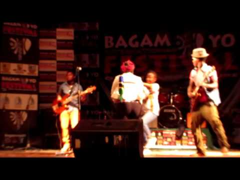 Blackfit Reggae Chat Chat Man live At Bagamoyo Festeval