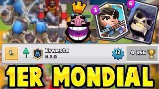 Clash Royale - DEFI BATTRE le 1er MONDIAL ! ENORME COMBAT en Arene Légendaire !