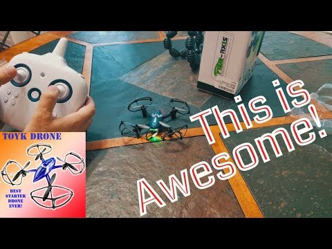 TOYK Drone  2.4Ghz 6-Axis Gyro 4-Channel Quadcopter Mini RC Drone - Good Choice for Drone Training