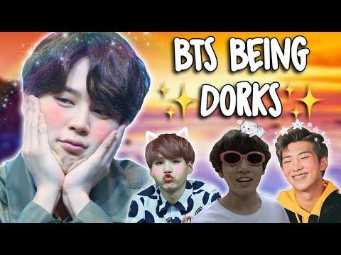 BTS Being Dorks! #5thFlowerPathWithBTS