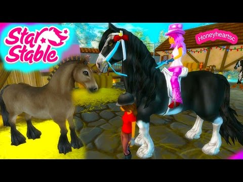Star Stable Horses Game Let's Play with Honeyheartsc Part 3 Video Series - Race