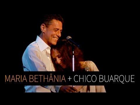 """Maria Bethânia e Chico Buarque - """"Sem Fantasia"""" (Ao Vivo) - Noite Luzidia"""