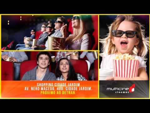 Multicine Cinemas, no Shopping Cidade Jardim em Goiânia.
