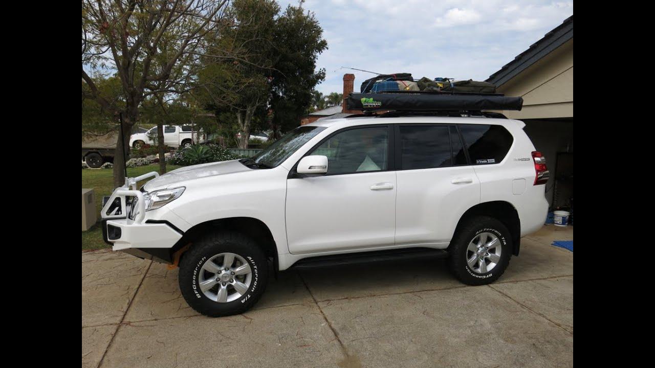 Toyota Prado 150 2014 Facelift Model Modifications For