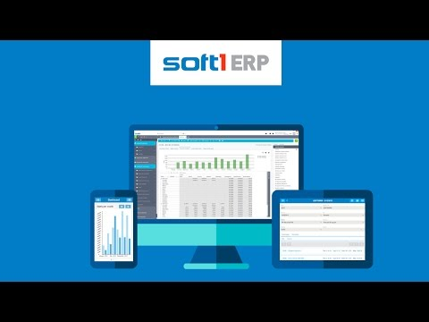 Soft1 ERP by SoftOne! More than Software!