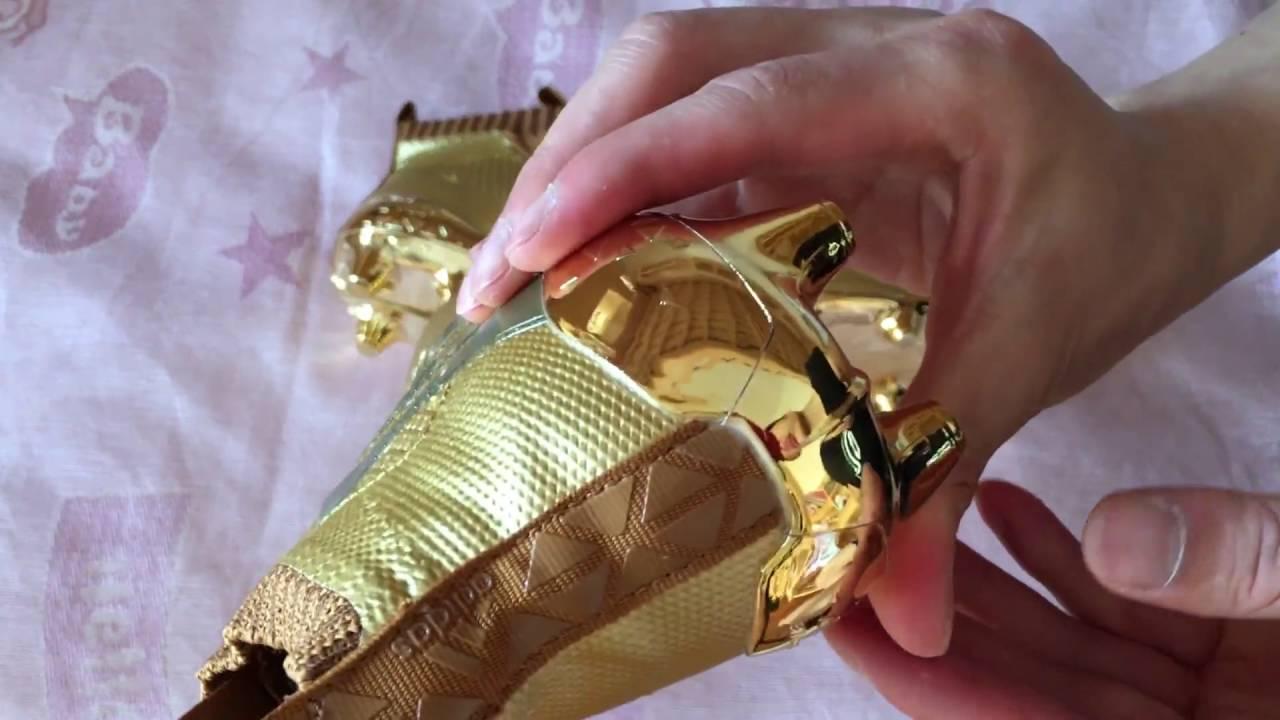 adidas ace douradas