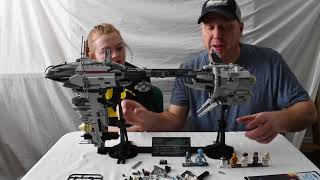 Experience with Star Wars Nebulon-B Escort Frigate Lego compatible