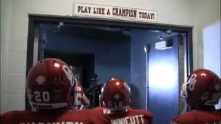 Oklahoma Sooners Field Entrance at 2013 Cotton Bowl