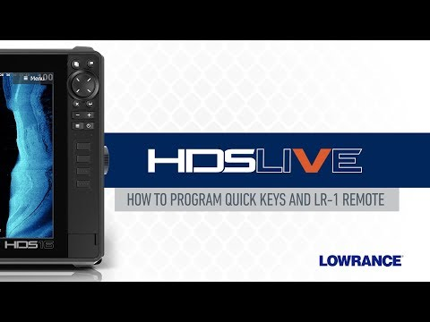How to Program Quick Keys and the LR-1 Remote on HDS LIVE