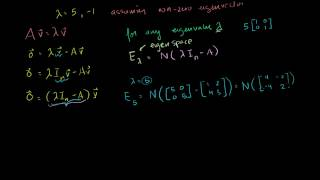 05   Eigen everything   04   Finding eigenvectors and eigenspaces example