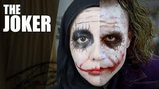 The Joker makeup tutorial (EASY)