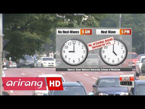 Heatwave can cause cardiac arrest, most dangerous at 5 p.m.