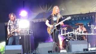 In Mourning - Colossus (Live @ Nummirock 2012)