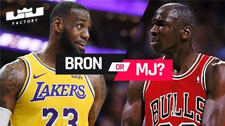 LeBron James vs Michael Jordan | Who Faced The Tougher Finals Opponents