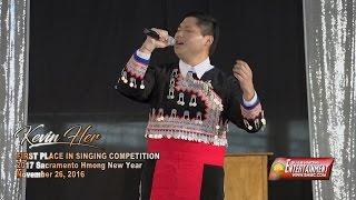 SUAB HMONG E-NEWS:  Kevin Her, 2017 Hmong Idol (Sacramento Hmong New Year)