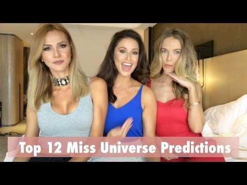 Miss Universe 2016 Top 12 Predictions by Miss USA 2014/2015 and Miss Costa Rica