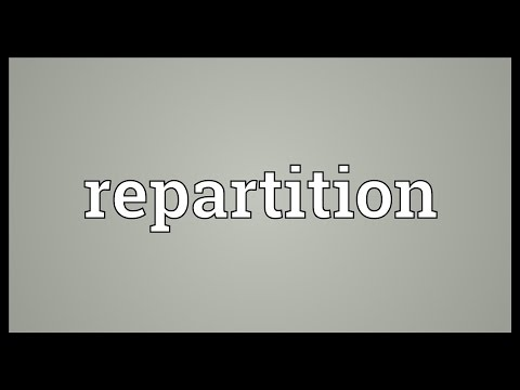 Header of repartition