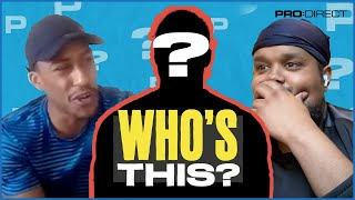 Chunkz struggles to guess this player | Pro:Direct Guess The Footballer