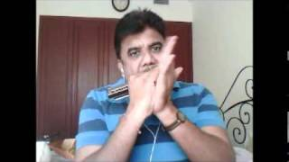 Mere Naina Sawan Bhadon-Mehbooba  on Harmonica/Mouth Organ by Natraj