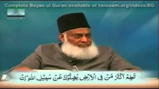 Islam and Democracy in the light of Quran by Dr Israr Ahmad (sovereign is ALLAH not people)